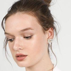BaubleBar Jewelry - BaubleBar Josephine Pearl & Gold Stud Earrings